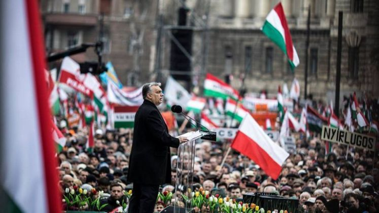 Viktor Orban March 15 2018